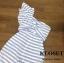 พร้อมส่ง Jumpsuit ทรงสวย ผ้าลายริ้วขาว-ฟ้า thumbnail 5