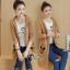 เสื้อเกาหลี ไหมพรมตัวยาวมี3สี พร้อมส่ง thumbnail 12