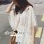 พร้อมส่ง เสื้อทรงผีเสื้อสไตล์เกาหลี thumbnail 3
