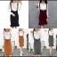 พร้อมส่ง Dress ชุดเดรสไหมพรมเกาหลี thumbnail 2