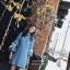 เดรสเกาหลี พร้อมส่ง มินิเดรสคอเต่า แขนผูกโบว์สีขาว thumbnail 14