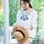 เสื้อเกาหลี พร้อมส่ง เสื้อ ทรงเอ ผ้า cotton 100% thumbnail 8