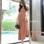 พร้อมส่ง Maxi dress ผ้ายืดผ้านุ่มนิ่ม thumbnail 5