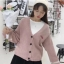 เสื้อผ้าเกาหลี พร้อมส่ง คาร์ดิแกน มี 3 สี thumbnail 1