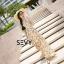 พร้อมส่ง Maxi dress ลายสับปะรด thumbnail 7