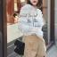 เสื้อผ้าเกาหลี พร้อมส่ง เสื้อลูกไม้กับกางเกงขาสั้น thumbnail 12