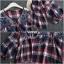 เสื้อเกาหลี พร้อมส่ง เสื้อคอวี แต่งลูกไม้ thumbnail 6