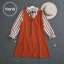 เสื้อผ้าเกาหลี พร้อมส่ง เสื้อเชิ้ต กับ เอี้ยมกระโปรง thumbnail 4