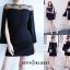 เดรสเกาหลี Mini dress ดีไซร์แขนผ่าเก๋ๆ thumbnail 2