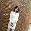 พร้อมส่ง Mini Dress มินิเดรสสูทสั้นคอปก thumbnail 5