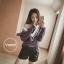 เสื้อเกาหลี พร้อมส่ง เสื้อคลุมไหมพรมถักนิ่ม thumbnail 3