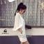 Mini dress ผ้ายืดเนื้อดี พร้อมส่ง thumbnail 3