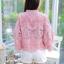 เสื้อเกาหลีลูกไม้คอกลม ผ้าชีฟอง พร้อมส่ง thumbnail 5