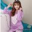 เสื้อผ้าเกาหลี พร้อมส่ง ชุดนอนเสื้อกันหนาว thumbnail 3