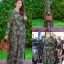 ชุดเดรสเกาหลี พร้อมส่ง Maxi Dress ป้ายหน้า thumbnail 10