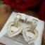 พร้อมส่ง Diamond Earring งานเพชร CZ แท้ thumbnail 3