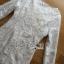 พร้อมส่ง เดรสผ้าลูกไม้สีขาวคริสตัลลายดอกไม้ thumbnail 12