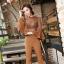 เสื้อเกาหลี พร้อมส่ง เสื้อลูกไม้ ผ้า Spandex thumbnail 3