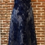 พร้อมส่ง Long dress แขนกุดผ้ามุ้งสีกรม สองชั้น thumbnail 14