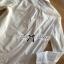 เสื้อเกาหลี พร้อมส่ง เสื้อเชิ้ต สีขาวปักลายการ์ตูน thumbnail 9
