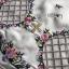 พร้อมส่ง มินิเดรสผ้าเครปสีขาวปักลายดอกไม้ thumbnail 12