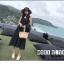 เสื้อผ้าเกาหลี พร้อมส่ง เสื้อคลุมกับเดรสแขนกุด thumbnail 5