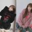 เสื้อเกาหลี พร้อมส่ง เสื้อกันหนาวปักดอกไม้ thumbnail 1