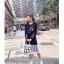 เดรสเกาหลี พร้อมส่ง Dress Hood แขนยาว thumbnail 6