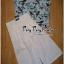 พร้อมส่ง ชุดเซทเสื้อแขนล้ำ คอทรงจีนโทนสีฟ้า thumbnail 7