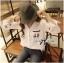 พร้อมส่ง เสื้อเกาหลี เชิ้ตสีขาวปักลายการ์ตูนดิสนีย์ thumbnail 2