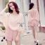 พร้อมส่ง Short Jumpsuit สีชมพูหวานแหวว thumbnail 3