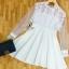 พร้อมส่ง Mini Dress ลุคเรียบหรู thumbnail 14