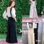 เสื้อผ้าเกาหลี พร้อมส่ง จั้มสูท ทรงเอี้ยม เอวเข้ารูป thumbnail 15