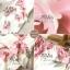 เดรสเกาหลี พร้อมส่ง เดรสเปิดไหล่ ลายดอกไม้สีหวาน thumbnail 4