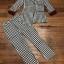 เสื้อผ้าเกาหลี พร้อมส่ง blazer set ลายสก็อต thumbnail 7