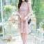 ชุดเดรสลูกไม้ พร้อมส่ง Lace Dress ทรงบาน thumbnail 9