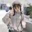 เสื้อเกาหลี พร้อมส่ง เสื้อคลุม น่ารัก ตะมุตะมิ thumbnail 3