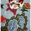พร้อมส่ง ชุดเดรสปักรูปแมวเหมียวกับดอกไม้ thumbnail 8
