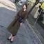 เสื้อผ้าเกาหลี เสื้อโค้ทคอปกอกป้าย thumbnail 3