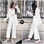 เสื้อผ้าเกาหลี พร้อมส่ง เสื้อสูทขาวปลายขนนก thumbnail 2