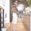 เสื้อเกาหลี คอปีน แขนยาว thumbnail 4