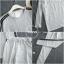 เสื้อผ้าเกาหลี พร้อมส่ง เสื้อกับกางเกงทรงเดฟ thumbnail 8