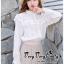 เสื้อแฟชั่นเกาหลี สไตล์เจ้าหญิง พร้อมส่ง thumbnail 1