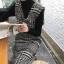 ชุดเดรสเกาหลี พร้อมส่ง เดรสเอี๊ยม ผ้าทวีตชาแนล thumbnail 2