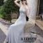 ชุดเดรสเกาหลี Maxi dress ไขว์ด้านหน้า พร้อมส่ง thumbnail 11