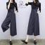 เสื้อผ้าเกาหลี เอี๋ยมกางเกง มี 4 สี พร้อมส่ง thumbnail 2