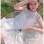 เดรสแฟชั่น พร้อมส่ง เดรสผ้าลูกไม้สีขาว หน้าอกทรงหัวใจ thumbnail 8
