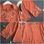 เสื้อเกาหลี พร้อมส่ง เสื้อทรงใส่สบาย เนื้อผ้าชีฟอง thumbnail 10