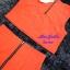 พร้อมส่ง เซทเสื้อ+กระโปรง เสื้อครอปสีส้ม มาพร้อมสร้อยคอ thumbnail 6