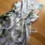 พร้อมส่ง เดรสลายดอกกุหลาบบนพื้นสีเทาอ่อน thumbnail 18